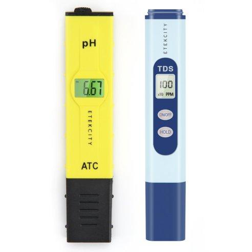 pH and EC meters