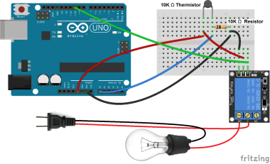 Arduino-Temperature-Dependent-Light-Bulb-With-5V-Relay-Updated